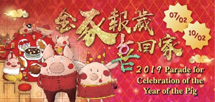 Parade for Celebration of the Year of the Pig