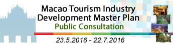 Macao Tourism Industry Development Master Plan - Public Consultation