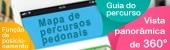 Página electrónica temática sobre os percursos pedonais