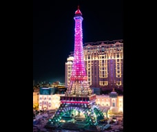 Eiffel Tower and Light Show