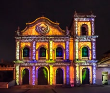 Macao Light Festival 2018 – Time Travel in Macao