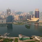 Panoramic view of Macao