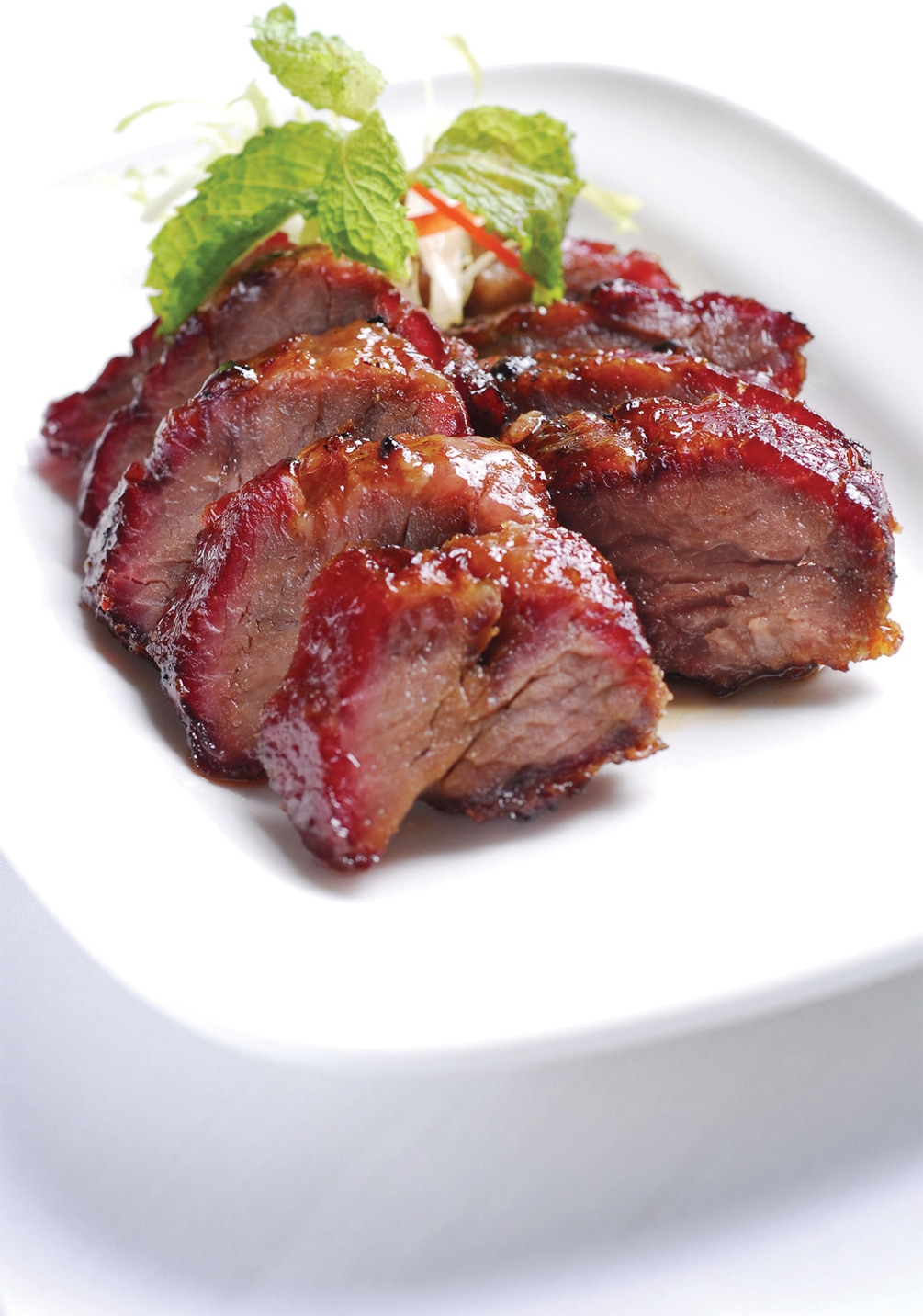 Barbecued Pork with Honey