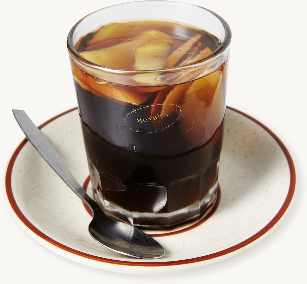 Coke Boiled with Ginger
