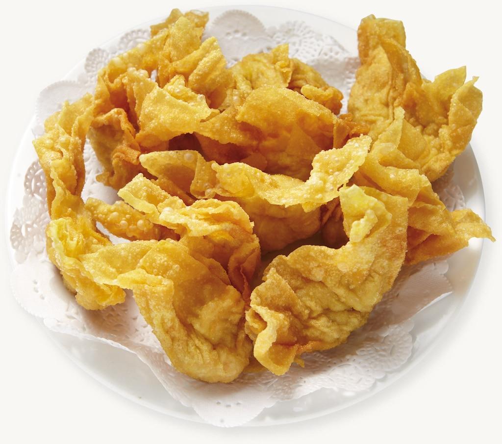 Boulettes de crevettes frites