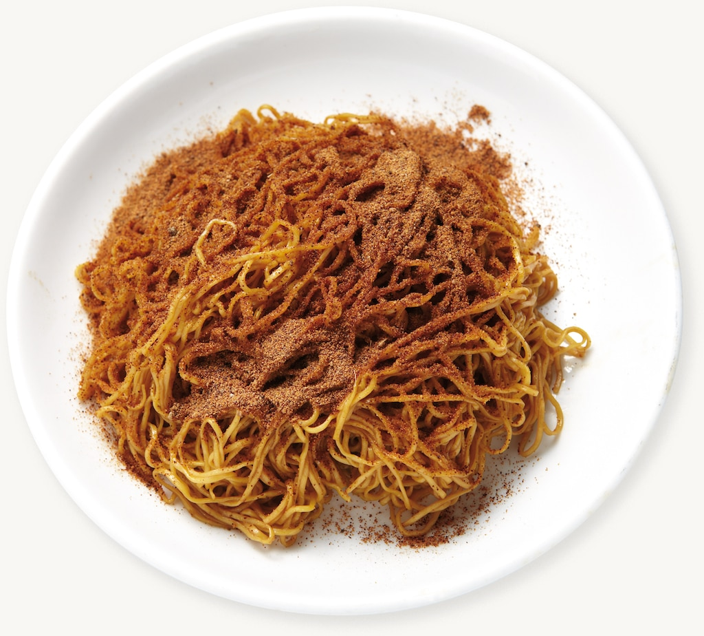 Dried Shrimp Roe Noodles