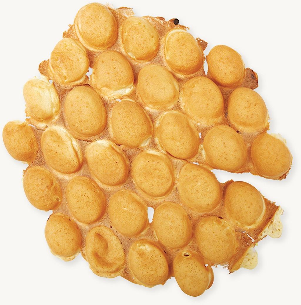 Sfogliatine all'uovo (Egg puffs)